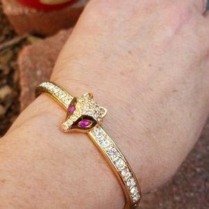 Betsey Johnson Fox Gold Bracelet